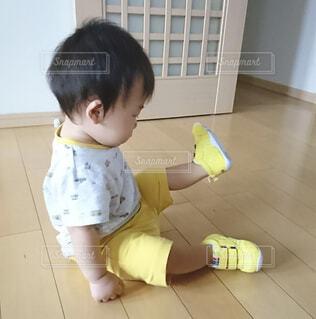 初めての靴の写真・画像素材[4296711]
