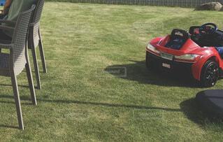 芝生の庭の写真・画像素材[4337885]