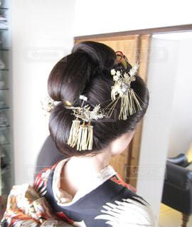 日本髪の写真・画像素材[1665968]