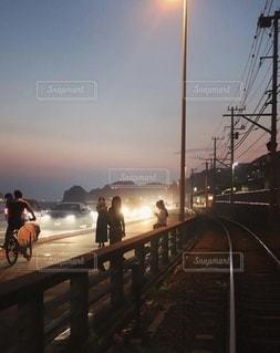 夏の湘南〜夕暮れ〜の写真・画像素材[3514698]