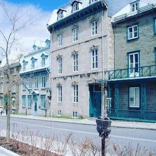 カナダ・ケベックシティの街並みの写真・画像素材[3485699]