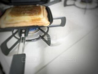 ホットサンドメーカーの写真・画像素材[3490360]
