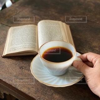 コーヒータイムの写真・画像素材[3719355]