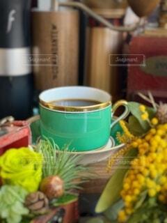 モーニングコーヒーの写真・画像素材[4186833]