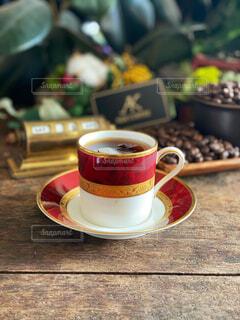 お気に入りのカップで朝コーヒー☕️の写真・画像素材[4304528]