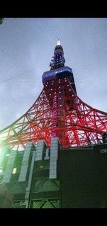 塔のクローズアップの写真・画像素材[3525073]