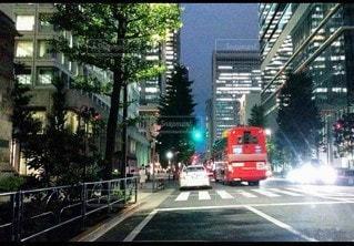 街の通りの眺めの写真・画像素材[3525076]