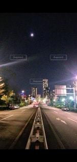 街の通りの眺めの写真・画像素材[3525150]