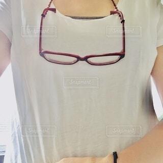 眼鏡は体の一部ですの写真・画像素材[3656614]
