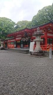 自然,庭,神社,樹木,建造物,祈り,朱色,境内,神様,エネルギー