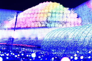 アート,ぼかし,イルミネーション,クリスマス,照明,明るい,カラー