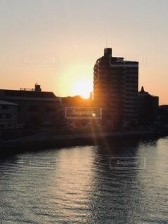 夕日の写真・画像素材[3514226]
