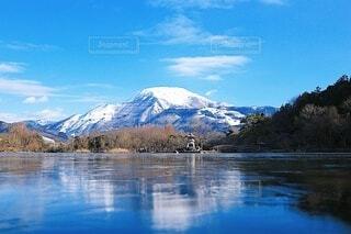 雪山の写真・画像素材[4096961]