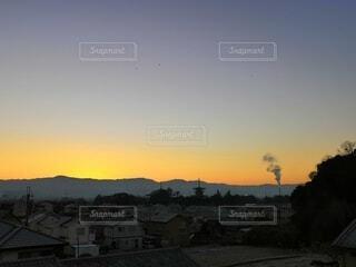 屋外,朝日,山,塔,正月,お正月,日の出,お寺,新年,初日の出