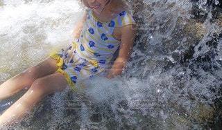 水遊びの写真・画像素材[3500271]