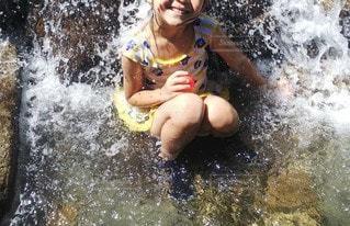 水遊びの写真・画像素材[3500272]