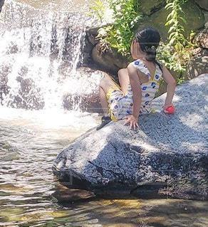 水遊びの写真・画像素材[3500819]