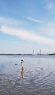 潮干狩りの写真・画像素材[3503074]