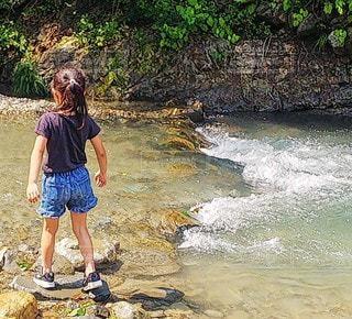 川の写真・画像素材[3510122]