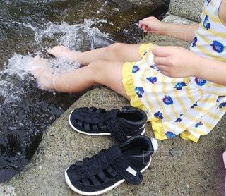 水遊びの写真・画像素材[3540903]