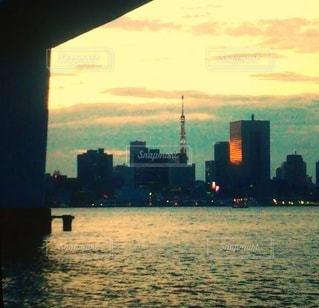 夕暮れの写真・画像素材[3593214]