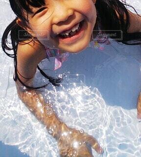水遊びの写真・画像素材[3617441]