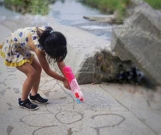 川遊びの写真・画像素材[3631693]