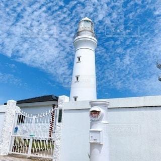 犬吠埼の白い灯台の写真・画像素材[3499870]