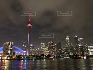 カナダの夜景の写真・画像素材[3501437]