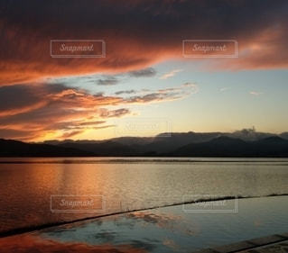 夕焼けの写真・画像素材[3510241]