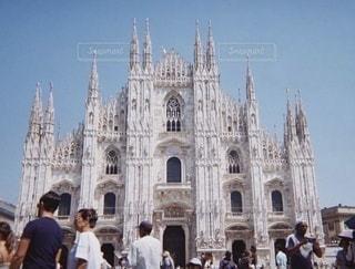 ミラノ大聖堂の写真・画像素材[3536455]