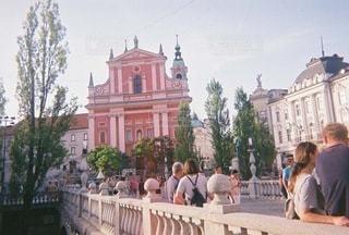 スロベニアのリュブリャナの写真・画像素材[3536459]