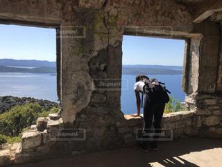 ハイキングの写真・画像素材[3603987]