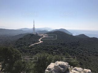 晴天のひのハイキング♪の写真・画像素材[3603989]