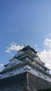 天下の大阪城の写真・画像素材[3516700]