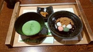 お茶と団子の写真・画像素材[3527885]