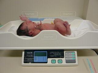 新生児の写真・画像素材[3529169]