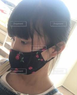 お気に入りのマスクの写真・画像素材[3566598]