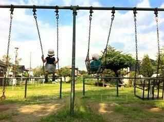 公園にての写真・画像素材[3786778]