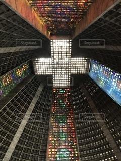 ブラジル ステンドガラスの写真・画像素材[3539014]