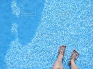 プールの写真・画像素材[3593034]