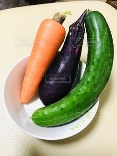 食べ物,野菜,キュウリ,ベジタブル,ニンジン,ナス