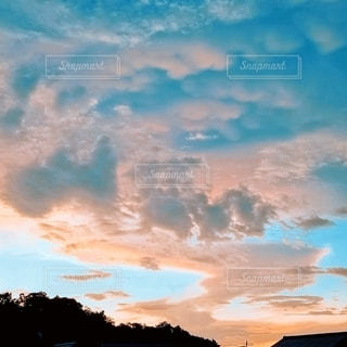 夕日。の写真・画像素材[3583178]