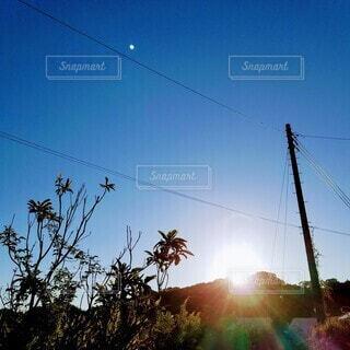 夕日。の写真・画像素材[3620399]