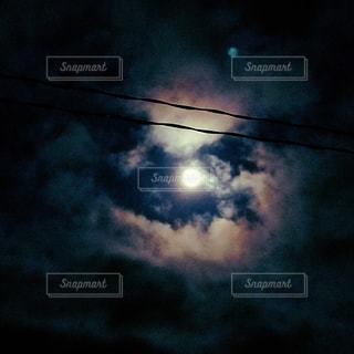 月。の写真・画像素材[3633358]