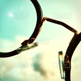 空とメガネ。の写真・画像素材[3649570]