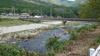 とある川の風景の写真・画像素材[3530455]