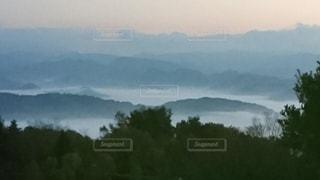作用の雲海の写真・画像素材[3530478]