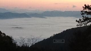 作用の雲海の写真・画像素材[3530479]