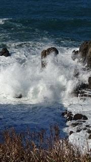 冬の日本海の写真・画像素材[3530492]